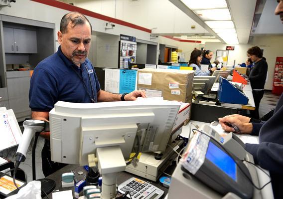 USPS employee