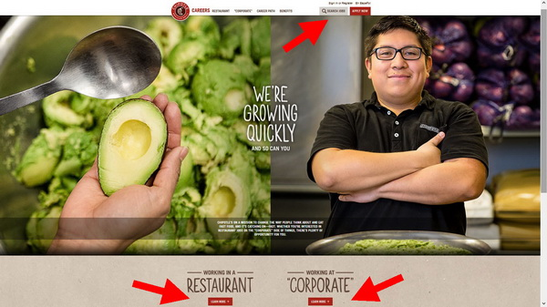 Choose between a restaurant and a corporate career at Chipotle
