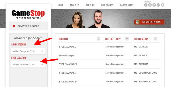 Search for the ideal GameStop job for you on the online GameStop application portal