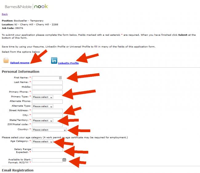 Barnes and Noble Application - Screenshot 3