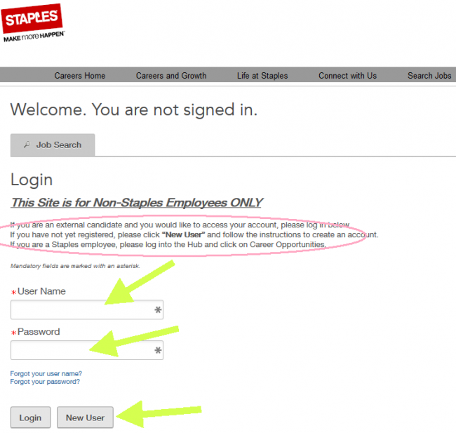 staples career guide staples application