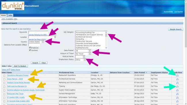 Baskin Robbins Application - Screenshot 4