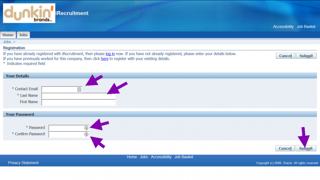 Baskin Robbins Application - Screenshot 5