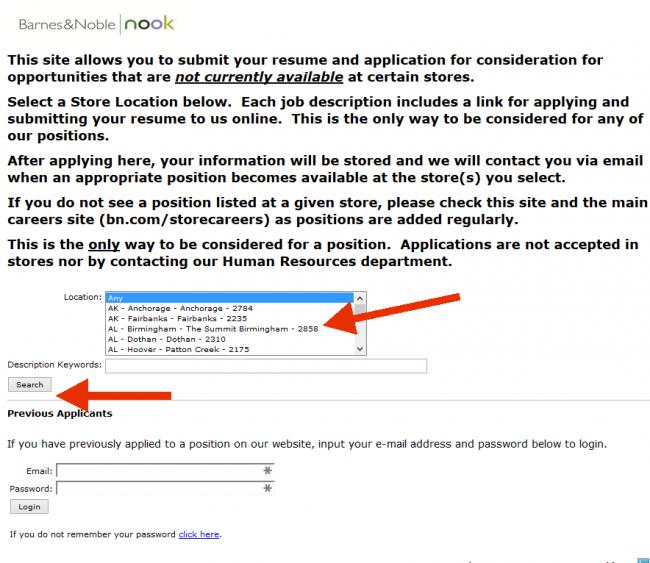 Barnes and Noble Application - Screenshot 6