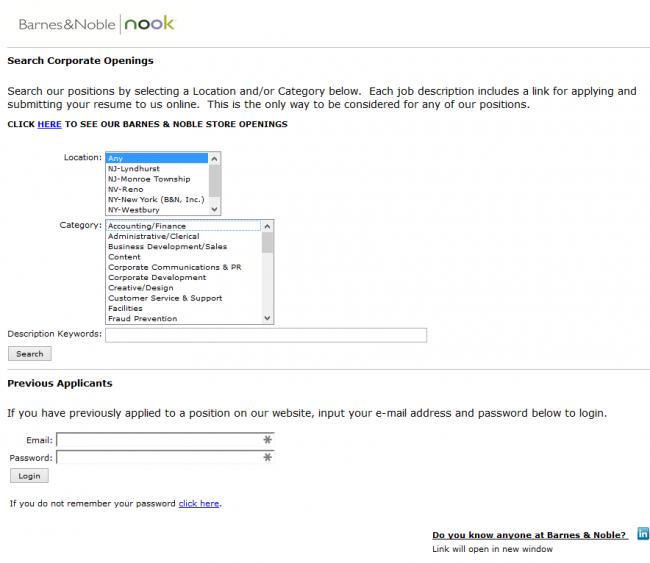 Barnes and Noble Application - Screenshot 7
