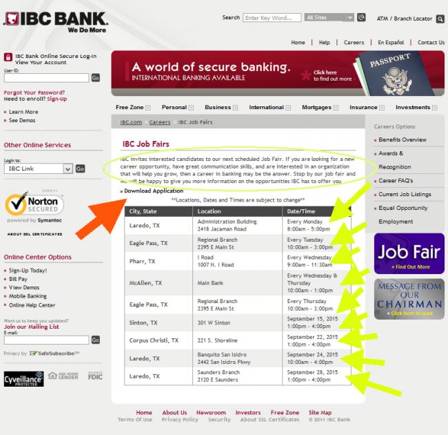 IBC Bank Application - Screenshot 7