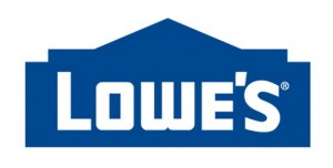 The official Lowes company logo
