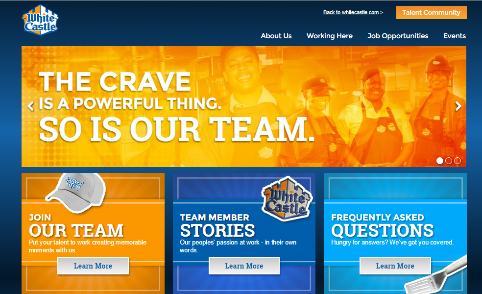 White Castle Application Online benefits