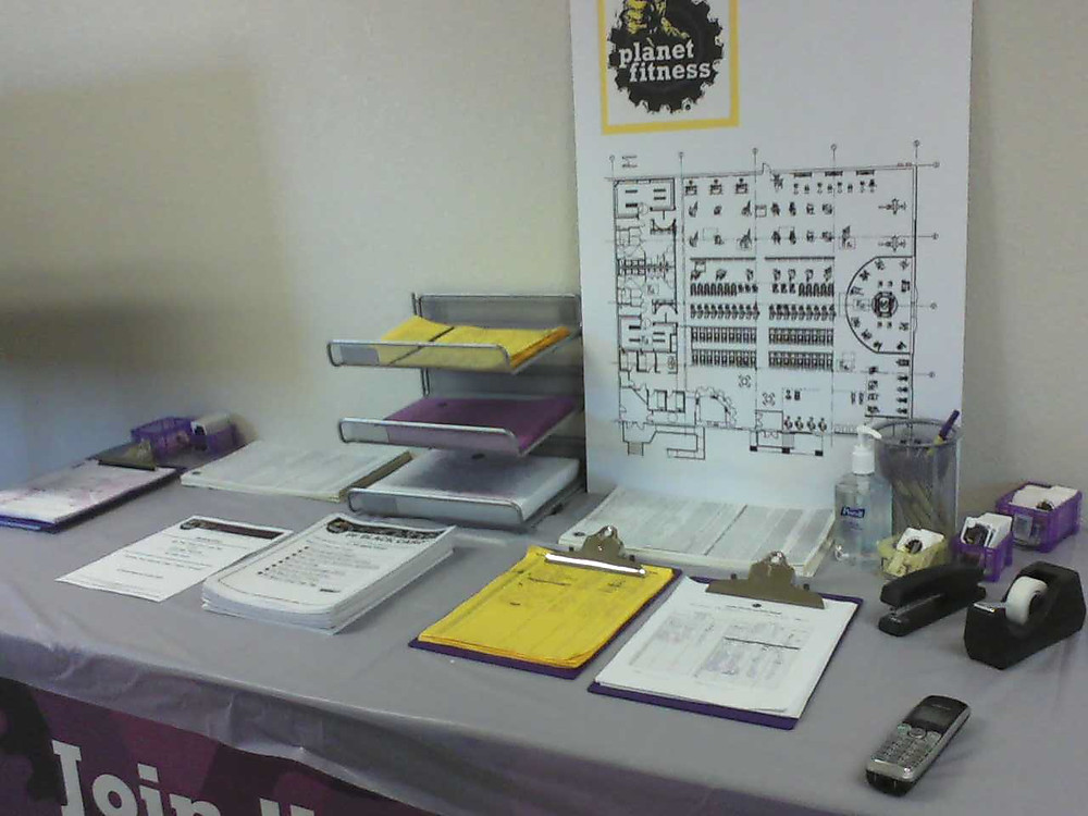 Planet Fitness Office - Interview Papers