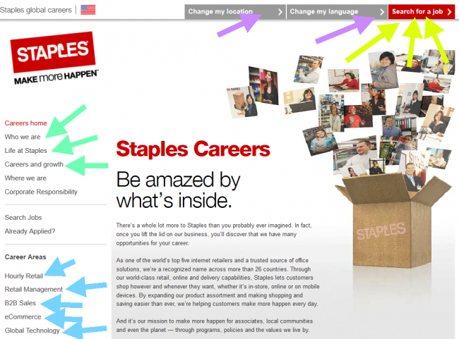 Staples Application - Screenshot 2