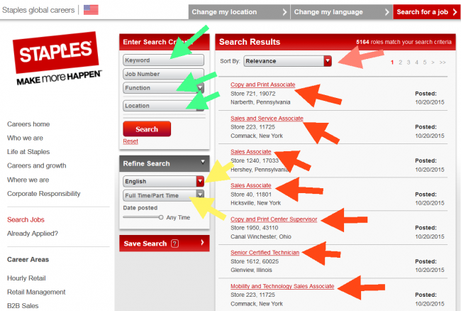 Staples Application - Screenshot 3