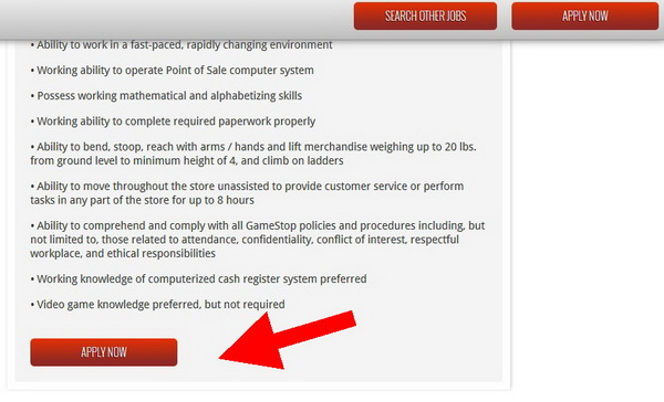 photo about Gamestop Application Printable titled GameStop Job Consultant GameStop Computer software