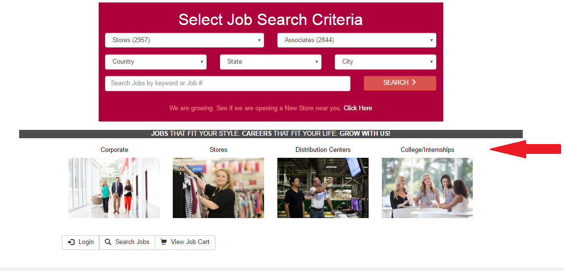 burlington coat factory application