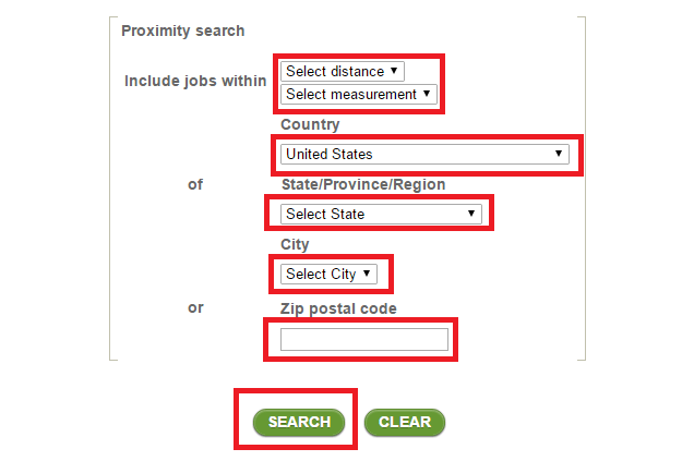 publix search criteria second step screenshot