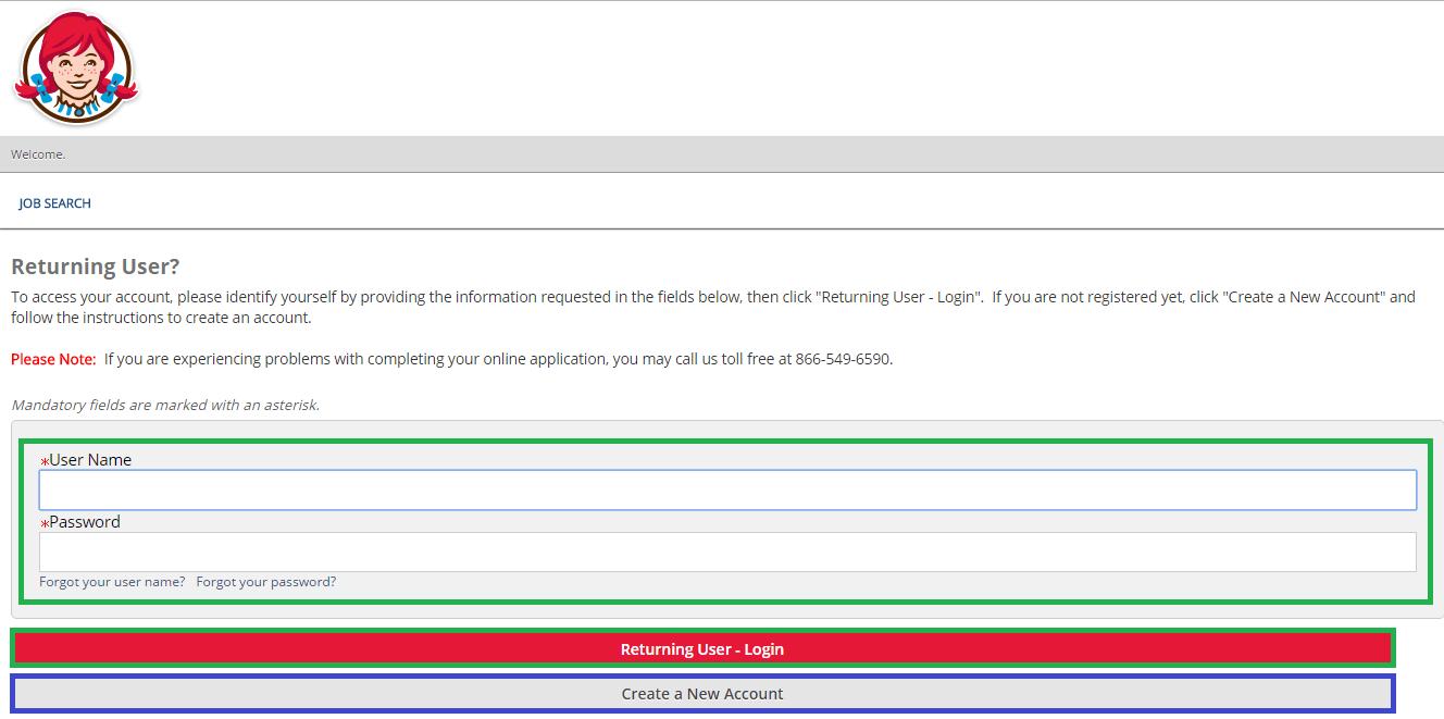 wendys job application career guide job application review wendys job application login screenshot