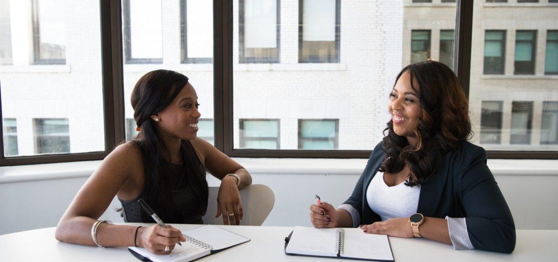 employer interviewing an applicant
